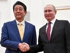 Putin & Abe 2