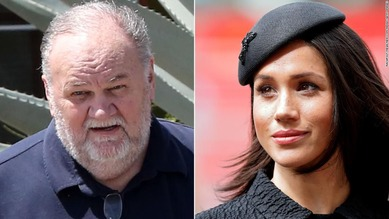 Meghan Markle & dad Thomas 4