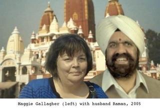 Maggie Gallagher & Raman Srivastav