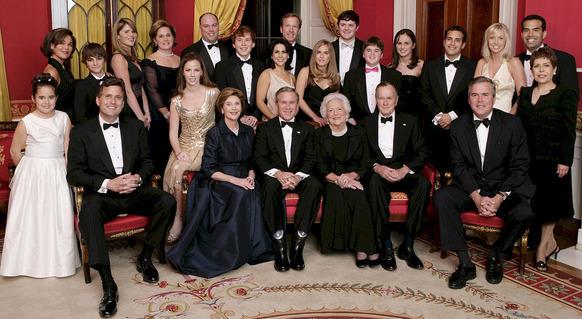 Bush Family 4
