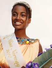 Norway Miss Iman Kerigo