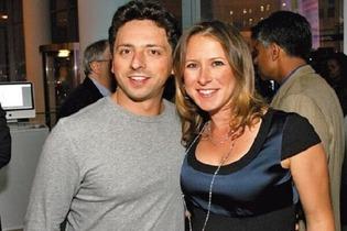 Sergey Brin & Anne Wojcicki 2