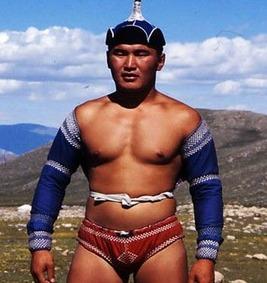 Mongolian wrestler 3