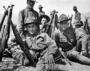 American Soldiers Spanish war