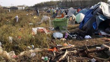 Refugees in Calais 1