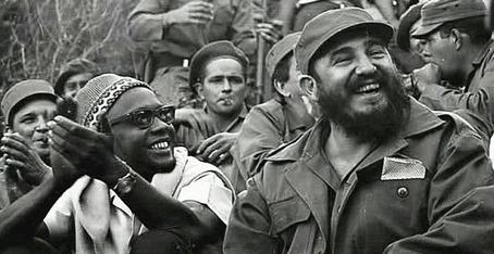 Amilcar Cabral & Fidel Castro