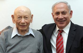 Benzion Netanyahu & Benjamin