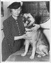 Helen Keller & Ankita dog 2