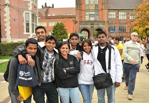 Indian college students in Britain 2