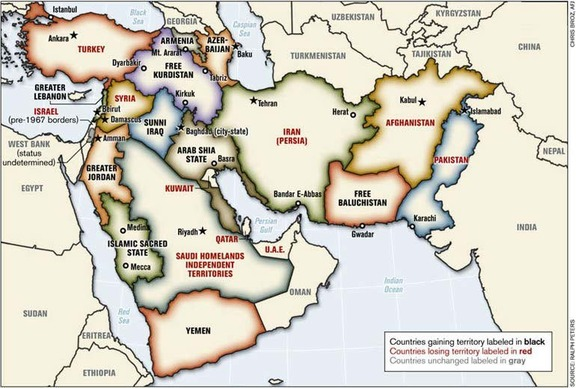 Greater Israel map 2