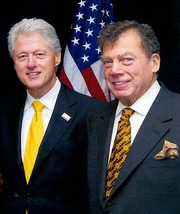 Edgar Bronfman Sr. & Bill Clinton