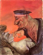 Otto Dix Sailor & Girl