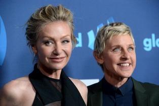 Ellen DeGeneres & Portia De Rossi 1
