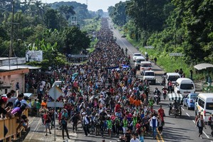 Hispanic migrant caravan 2
