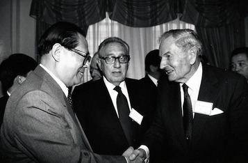 Henry Kissinger & David Rockefeller in China