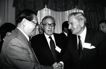 Henry Kissinger & David Rockefeller in China