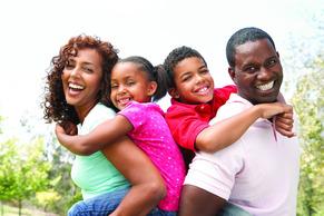 Black American Family 3