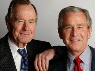 George Bush family 4434