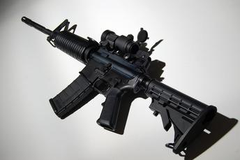 AR 15 rifle 2