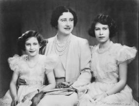 Queen Elizabeth & Princess Margaret