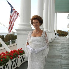 Jane Seymour at Grand Hotel