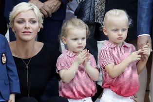 Princess Charlene & children 11