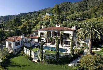 Al Gore house in Malibu