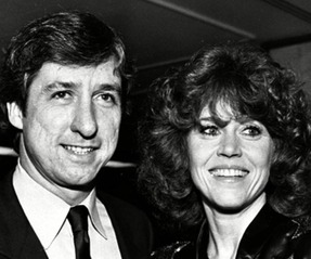 Tom Hayden & Jane Fonda