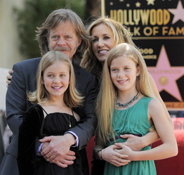 Felicity Huffman & Sophia & William Macy