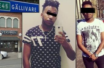 rape in Sweden Somali rapist