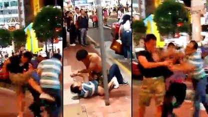 Chinese street fight 1