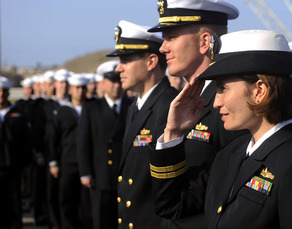 US Navy Officers 3