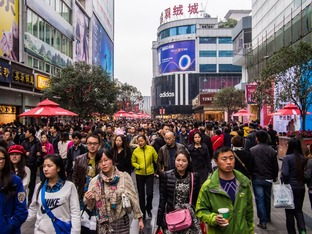 Chinese crowd 21