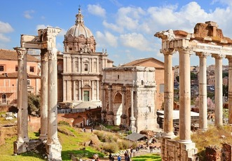 Arch of Septimius Severus in Rome