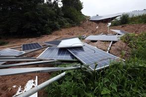 solar panels 222