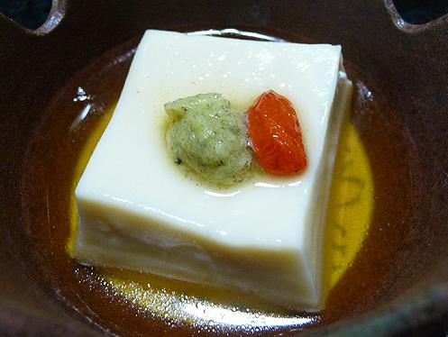 前菜ごま豆腐
