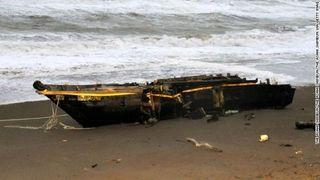 【CNN】北朝鮮からの「幽霊船」、日本海沿岸で漂着相次ぐ