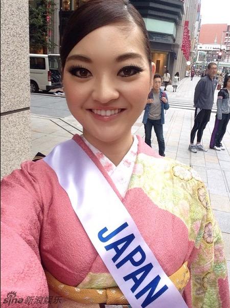 2014年ミスインターナショナルコンテスト、日本代表の女性に中国のネットユーザーが注目(写真アリ)