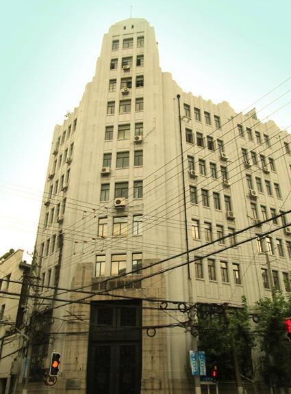 上海_裏バンド_旧中国墾業銀行ビル (4)