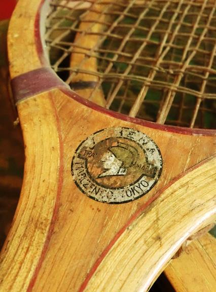 戦前のテニスラケット_丸善と中村商店 (7)