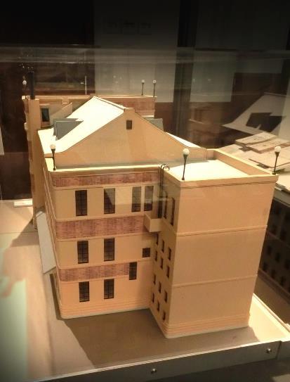 旧上伊那図書館の模型 (4)