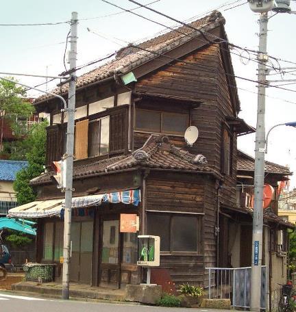 東京都北区赤羽西2丁目_Y字路