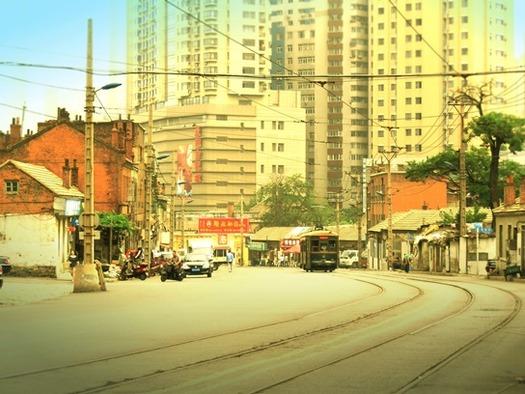 路面電車と東関街 (10)