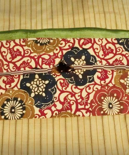 花園商店アパートメント店_上田紬と型染め帯 (3)