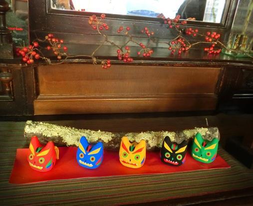 香青軒の節分飾り (2)