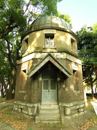 旧東京商船大学旧天体観測所第一観測台  (1)
