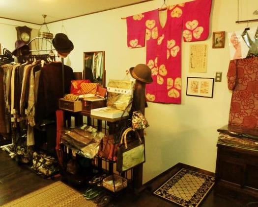 信州上田市花園商店201703_アンティークリサイクル着物 (2)