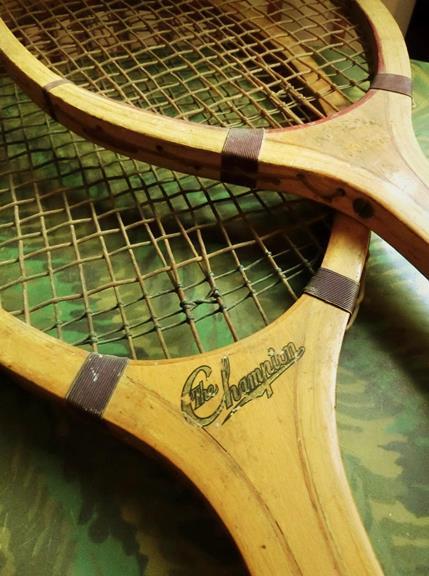 戦前のテニスラケット_丸善と中村商店 (3)