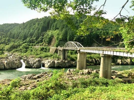 岐阜県恵那市笠置町毛呂窪_大井発電所_東雲橋 (8)