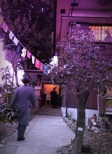 旧高田邸の夕暮れ (3)